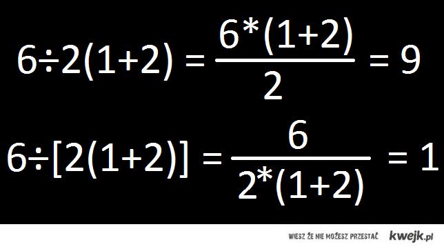 rozwiązanie 6*2(1+2)