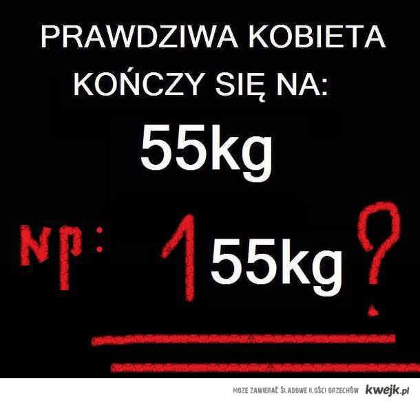 od 55 kg
