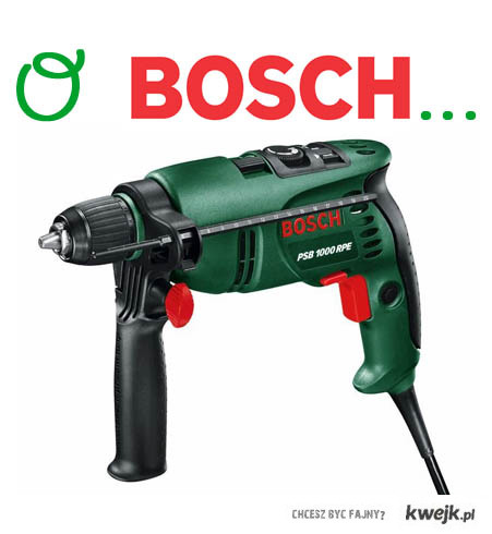 O Bosch...