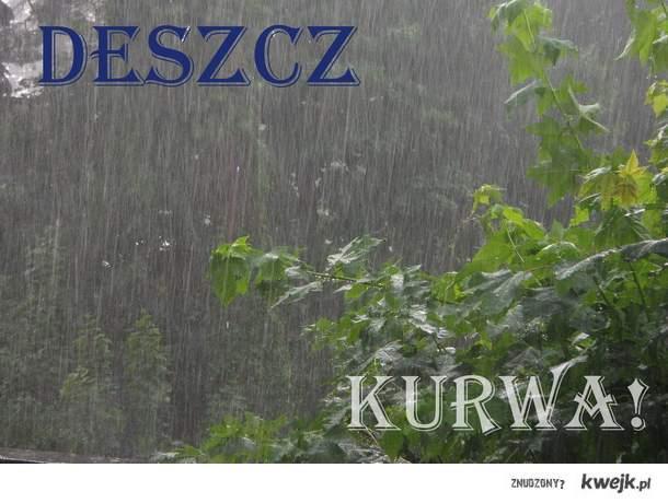 Znowu deszcz