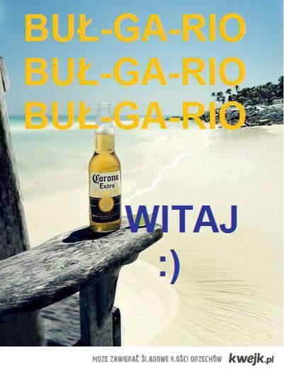 Witaj Bułgario!