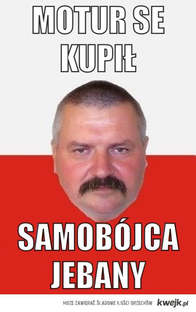 Andrzej + Motocykl