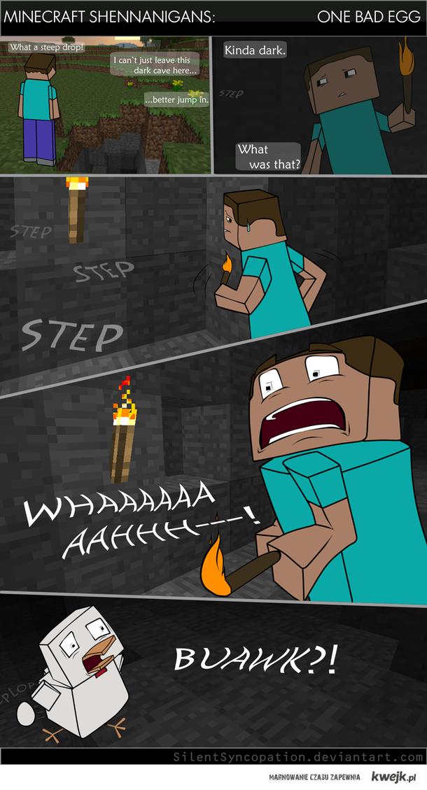 strach w minecraft