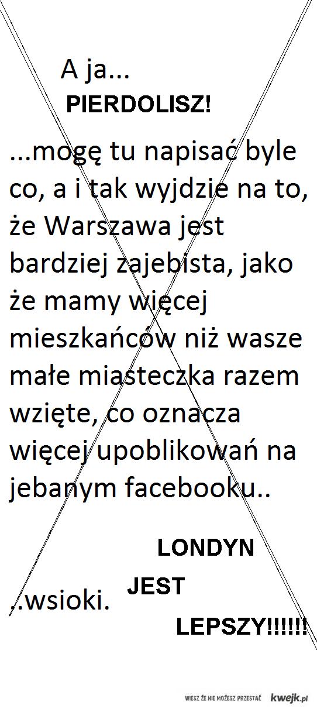 LONDYN > WARSZAWA