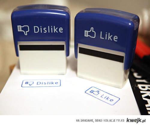 Like/Dislike.