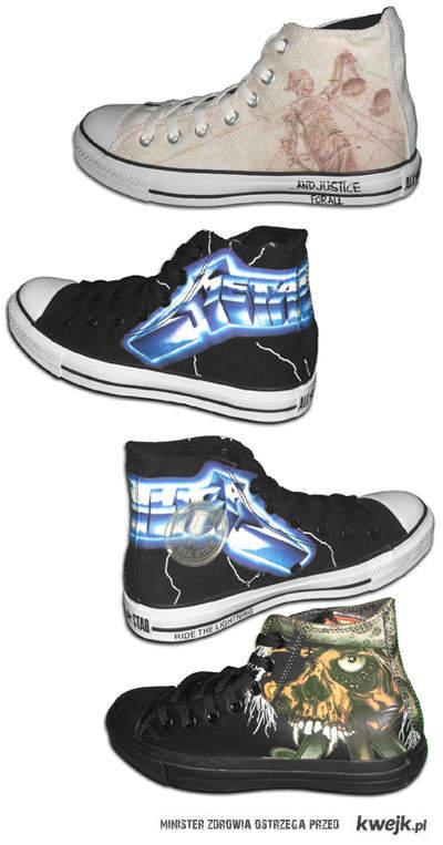 Metallica Converse