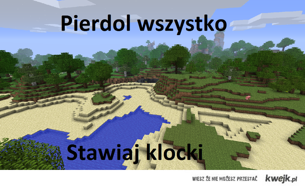 Minecraft forever!