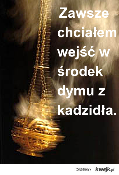 Dym z kadzidła