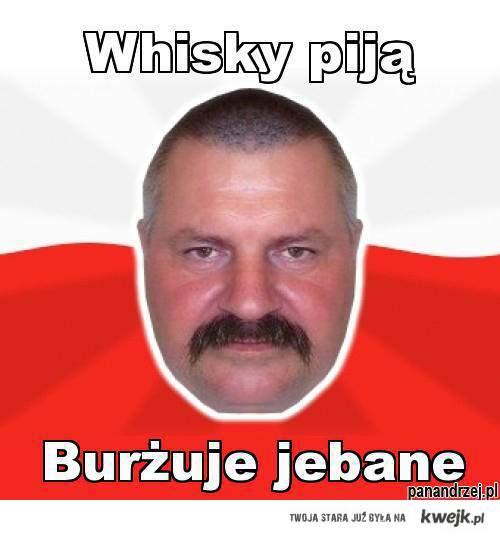 Whisky piją..
