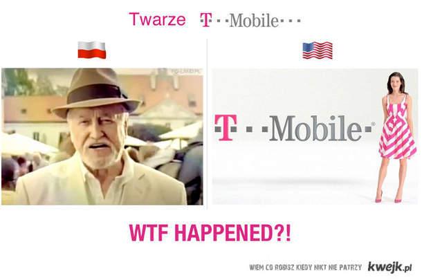 Twarze T-Mobile