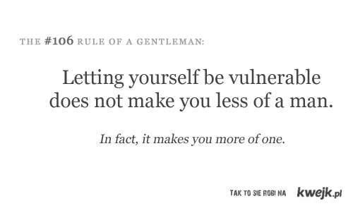 rule of gentelman