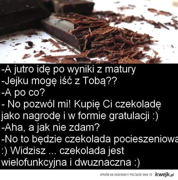 dwuznaczność czekolady