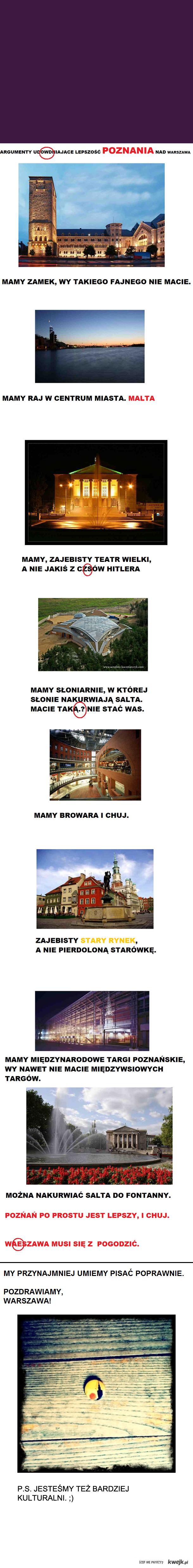 Warszawa moje miasto