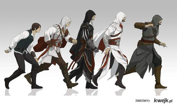 Ezio's evolution