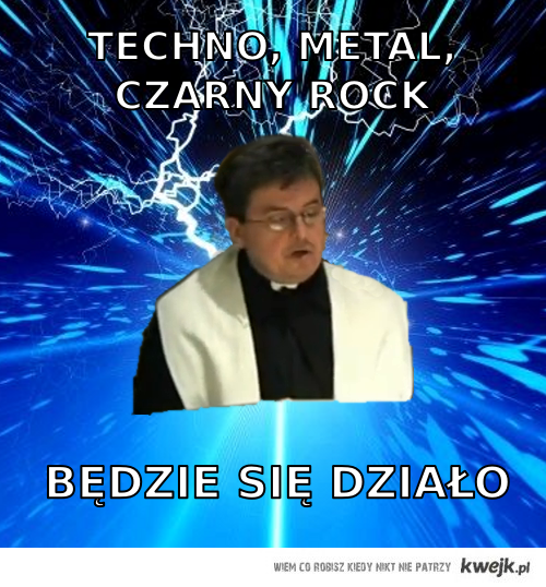 techno, metal, czarny rock