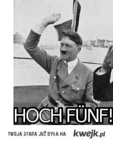 Nazi High Five