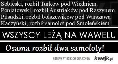 Osama na Wawel!