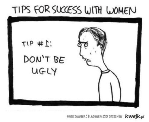 success with woman