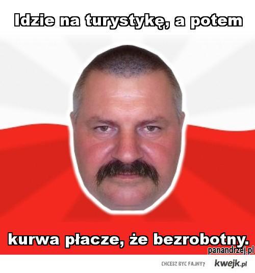 Pan Andrzej o turystyce