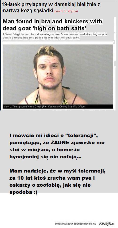tolerancja dla dewiantów