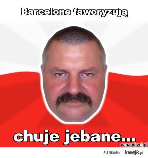 Barcelone faworyzują