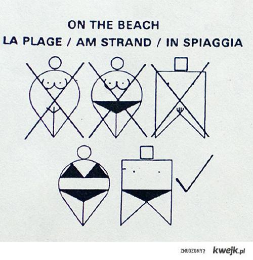 Informacja plażowa