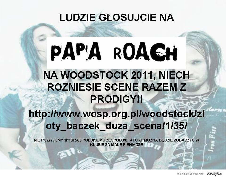 Papa Roach na Woodstock 2011!