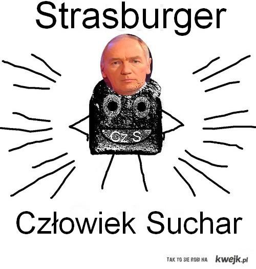 Strasburger jako Człowiek Suchar