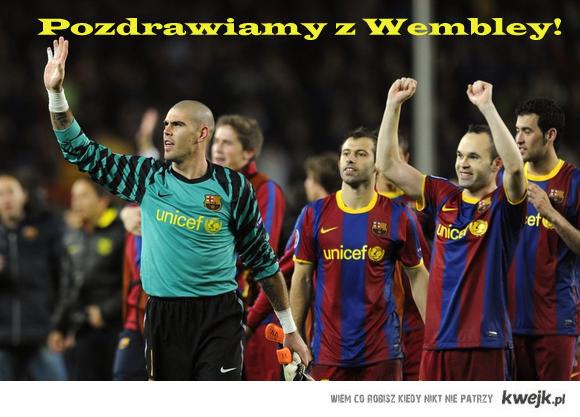 Pozdrowienia z Wembley!