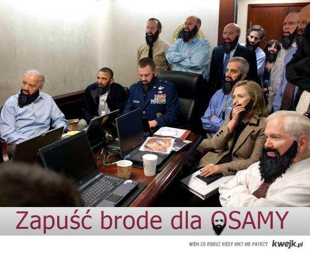 Zapuść brode dla Osamy!