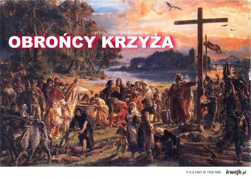 obrońcy krzyża