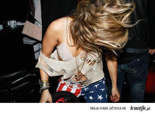 USA flag pants