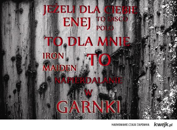 Enej VS Iron Maiden