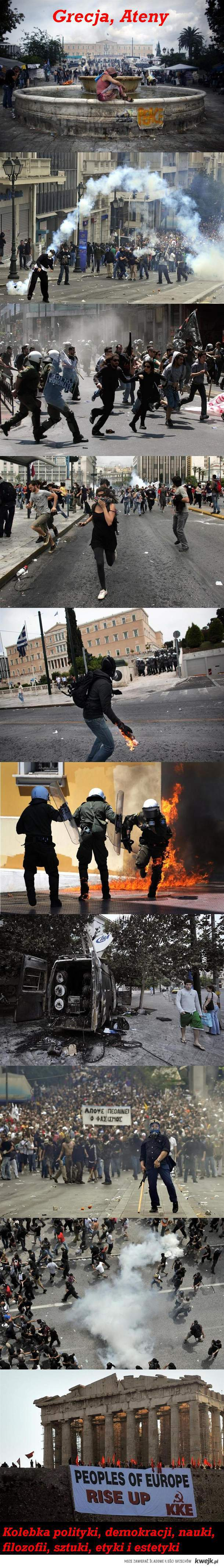 Grecja, kolebka demokracji