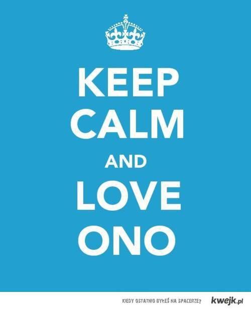 keep calm and love ONO