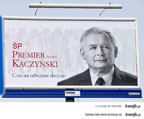 Świetny Premier - Jarosław Kaczyński :)