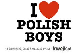 I love polish boys