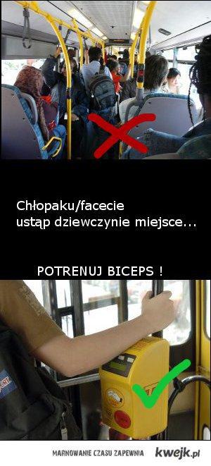 potrenuj biceps !