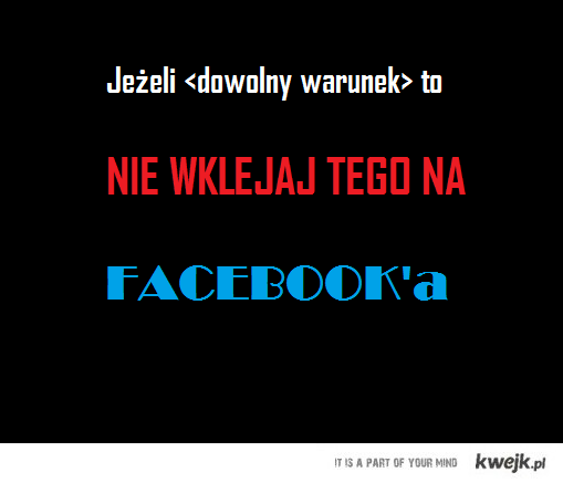 starczy wklejania na fb