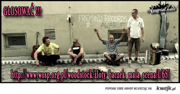 awariat nato - złoty bączek - woodstock