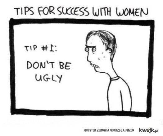 Tips for success with women.