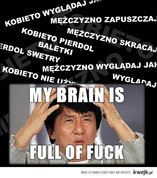 My brain is ...