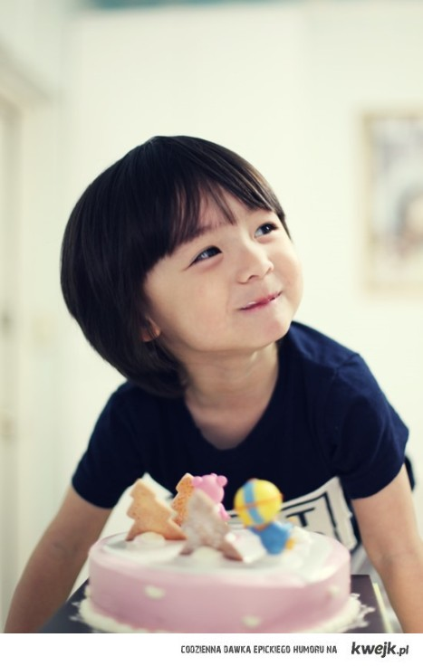 Korean little boy