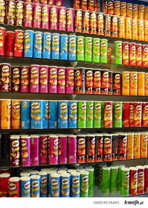 Pringles - domowa kolekcja