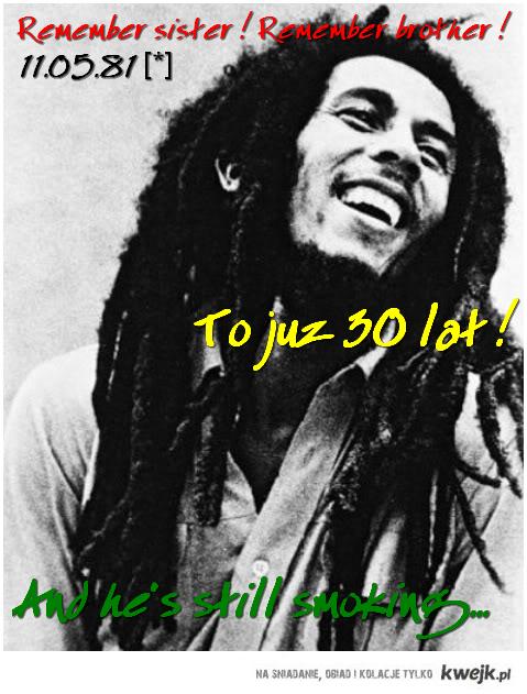 30 years of Bob Marley.