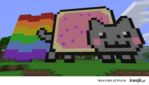 Nyan Cat minecraft