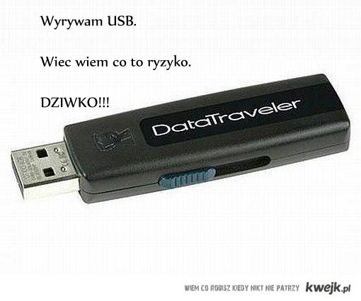 USB dziwko