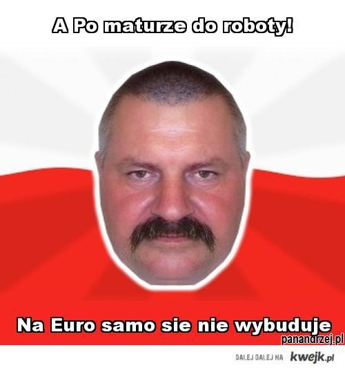 Pan Andrzej o Euro 2012