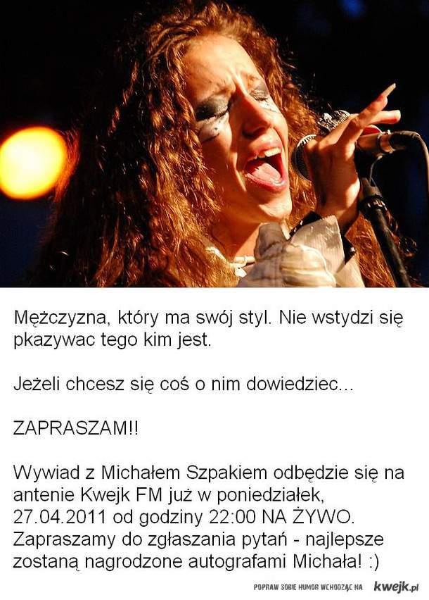 Michał Szpak, wywiad