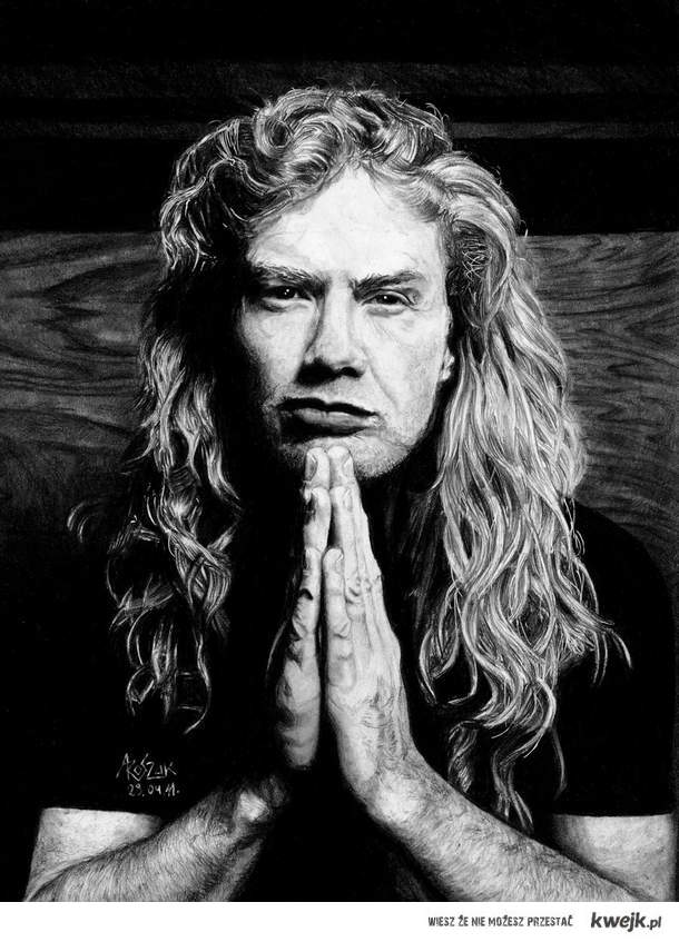 Dave Mustaine. na sprzedaż, A4. gg 15937025